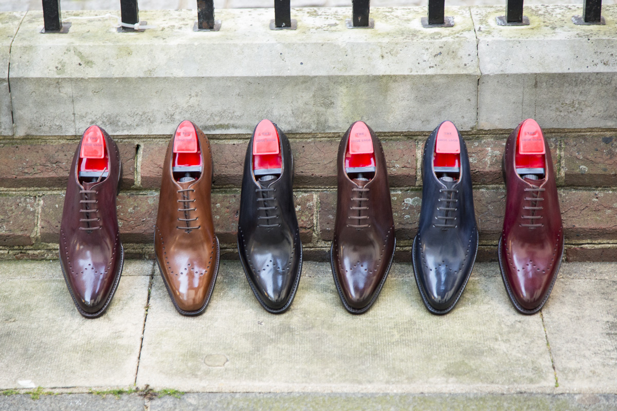 The Tony in various options for Made to Order