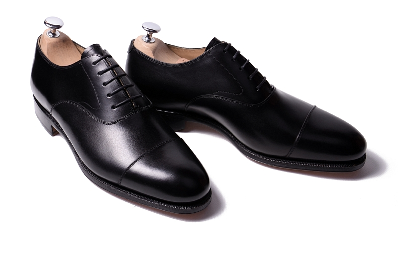 Image result for images of Black cap toe oxfords