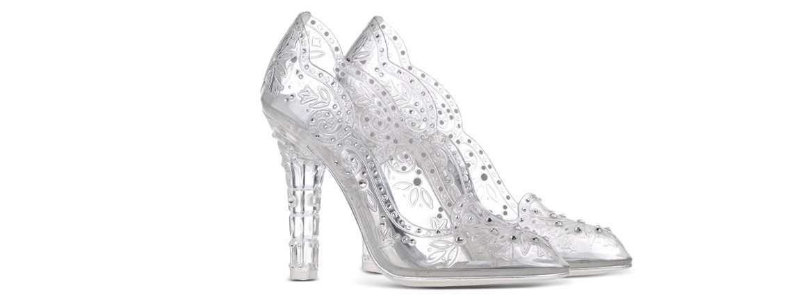 Lovely Dolce & Gabanna Plexiglass Court Shoes