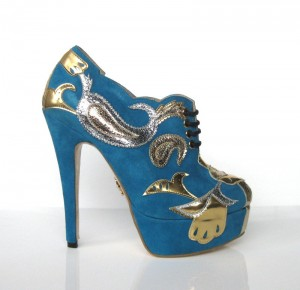 The Low Cost Charlotte Olympia Orient Express Bootie