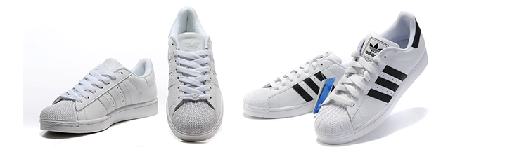 Cheap Discount Adidas Superstar Shoes Goes Very Well with Culottes