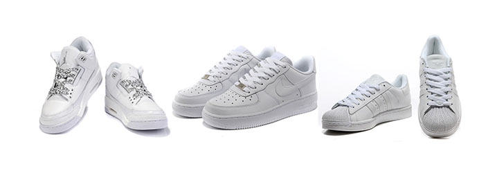 Cheap Classic White Sneakers You Won't Miss Out