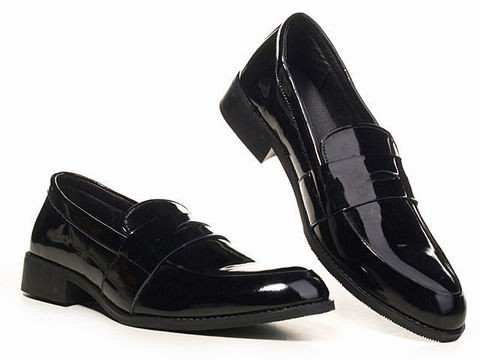 AAA Quality Prada Black Leather Loafers