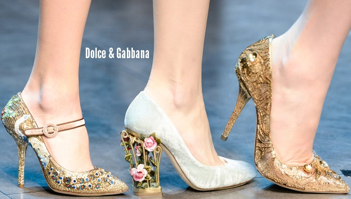 Dolce Gabbana Beauty And The Beast Shoes Women