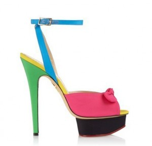 New Sandals for Spring - Charlotte Olympia Serena Sandals Heels