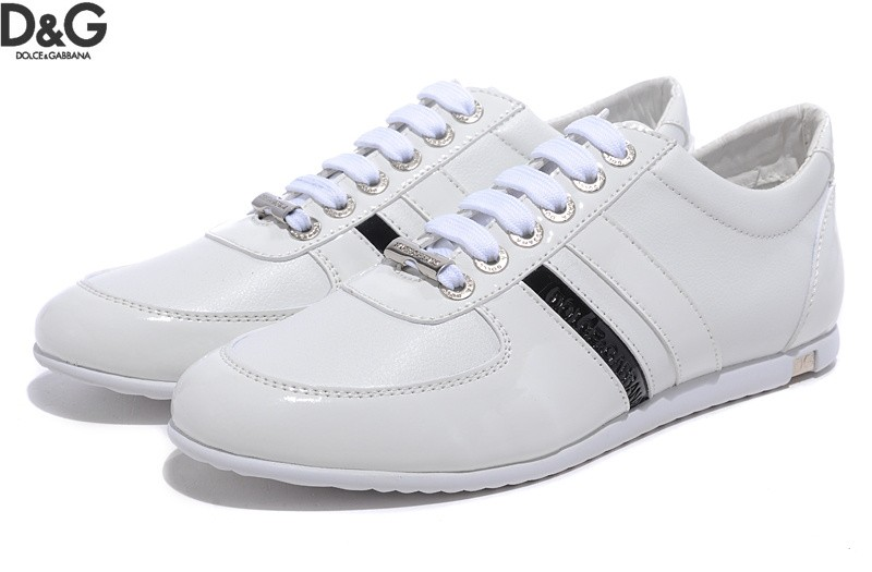 Dolce & Gabbana Lace-Up Low Trainers with Cheap Price