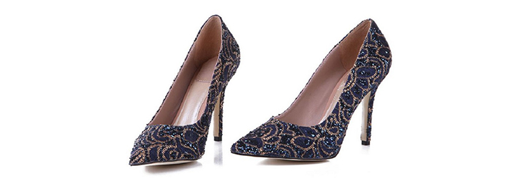 Elegant Christian Dior Lace Pumps - This Season Must-Have