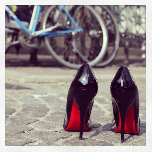 Modes of Transport Car, Bike, Louboutins