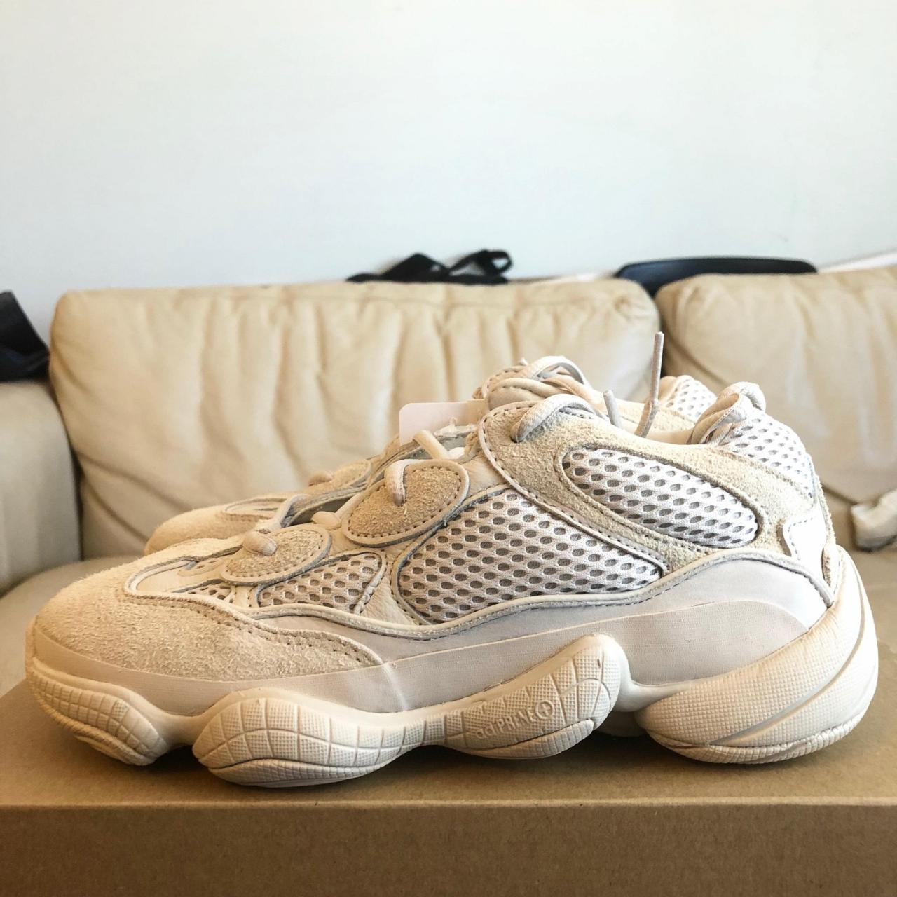 ccbc610c45622 Replica Shoes Lowest Price adidas X Yeezy Beige 500 Blush Desert Rat Db2908  Ship Now Sneakers. Replica Adidas Shoes